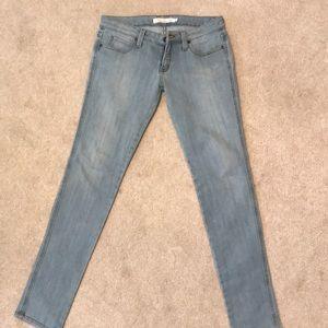 Frankie B Light Blue Skinny Jeans Denim